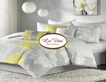 website design for lavita home collections